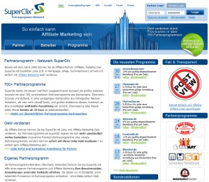 Superclix Partnerprogramm